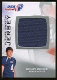2012 Upper Deck USA Football Future Swatch #FS11 Colby Cooke
