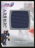 2012 Upper Deck USA Football Future Swatch #FS12 Corey Coleman