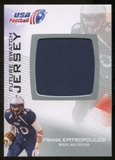 2012 Upper Deck USA Football Future Swatch #FS17 Frank Epitropoulos