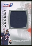 2012 Upper Deck USA Football Future Swatch #FS18 Freddie Tagaloa