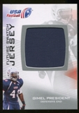 2012 Upper Deck USA Football Future Swatch #FS19 Gimel President