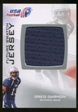 2012 Upper Deck USA Football Future Swatch #FS20 Greg Garmon