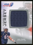 2012 Upper Deck USA Football Future Swatch #FS22 Ian Park
