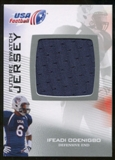 2012 Upper Deck USA Football Future Swatch #FS23 Ifeadi Odenigbo