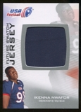 2012 Upper Deck USA Football Future Swatch #FS24 Ikenna Nwafor