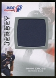 2012 Upper Deck USA Football Future Swatch #FS25 Imani Cross
