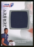 2012 Upper Deck USA Football Future Swatch #FS26 Jameis Winston