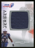2012 Upper Deck USA Football Future Swatch #FS28 Jarrett Irving