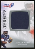 2012 Upper Deck USA Football Future Swatch #FS30 Javelle Allen