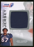 2012 Upper Deck USA Football Future Swatch #FS31 Joe Harris