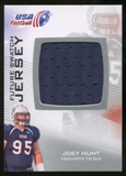 2012 Upper Deck USA Football Future Swatch #FS32 Joey Hunt