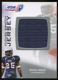 2012 Upper Deck USA Football Future Swatch #FS41 Ryan Reid