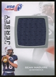 2012 Upper Deck USA Football Future Swatch #FS42 Sean Maguire