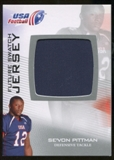 2012 Upper Deck USA Football Future Swatch #FS43 Se'Von Pittman