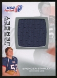 2012 Upper Deck USA Football Future Swatch #FS44 Spencer Stanley
