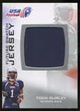 2012 Upper Deck USA Football Future Swatch #FS47 Todd Gurley