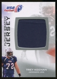 2012 Upper Deck USA Football Future Swatch #FS48 Trey Keenan