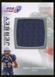 2012 Upper Deck USA Football Future Swatch #FS49 Zach Espinosa