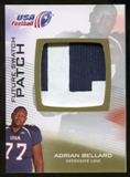 2012 Upper Deck USA Football Future Swatch Patch #FS1 Adrian Bellard