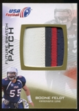 2012 Upper Deck USA Football Future Swatch Patch #FS4 Boone Feldt