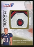 2012 Upper Deck USA Football Future Swatch Patch #FS5 Brennen Blakemore