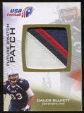 2012 Upper Deck USA Football Future Swatch Patch #FS7 Caleb Bluiett