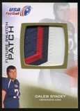 2012 Upper Deck USA Football Future Swatch Patch #FS8 Caleb Stacey