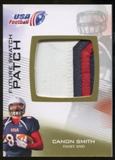 2012 Upper Deck USA Football Future Swatch Patch #FS9 Canon Smith