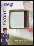 2012 Upper Deck USA Football Future Swatch Patch #FS11 Colby Cooke