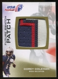 2012 Upper Deck USA Football Future Swatch Patch #FS12 Corey Coleman