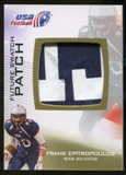 2012 Upper Deck USA Football Future Swatch Patch #FS17 Frank Epitropoulos