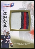 2012 Upper Deck USA Football Future Swatch Patch #FS18 Freddie Tagaloa