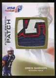 2012 Upper Deck USA Football Future Swatch Patch #FS20 Greg Garmon