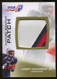 2012 Upper Deck USA Football Future Swatch Patch #FS21 Hardy Nickerson Jr.