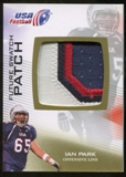 2012 Upper Deck USA Football Future Swatch Patch #FS22 Ian Park