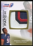 2012 Upper Deck USA Football Future Swatch Patch #FS24 Ikenna Nwafor