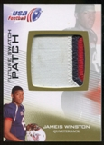 2012 Upper Deck USA Football Future Swatch Patch #FS26 Jameis Winston