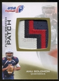 2012 Upper Deck USA Football Future Swatch Patch #FS29 Anu Solomon