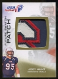 2012 Upper Deck USA Football Future Swatch Patch #FS32 Joey Hunt