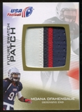 2012 Upper Deck USA Football Future Swatch Patch #FS35 Moana Ofahengaue