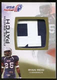 2012 Upper Deck USA Football Future Swatch Patch #FS41 Ryan Reid