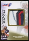 2012 Upper Deck USA Football Future Swatch Patch #FS42 Sean Maguire