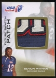 2012 Upper Deck USA Football Future Swatch Patch #FS43 Se'Von Pittman