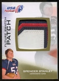 2012 Upper Deck USA Football Future Swatch Patch #FS44 Spencer Stanley