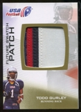 2012 Upper Deck USA Football Future Swatch Patch #FS47 Todd Gurley