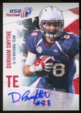 2012 Upper Deck USA Football U-19 National Team Autographs #U196 Durham Smythe Autograph