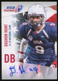 2012 Upper Deck USA Football U-19 National Team Autographs #U197 Dashon Hunt Autograph