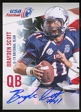 2012 Upper Deck USA Football U-19 National Team Autographs #U1913 Brayden Scott Autograph