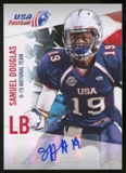 2012 Upper Deck USA Football U-19 National Team Autographs #U1916 Samuel Douglas Autograph