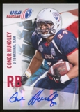 2012 Upper Deck USA Football U-19 National Team Autographs #U1918 Conor Hundley Autograph